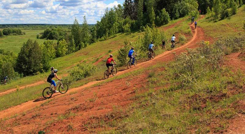 rutas mountainbike - Casa de la Fuente