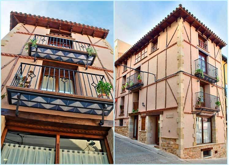 Edificio estilo aragonés - Casa de la Fuente