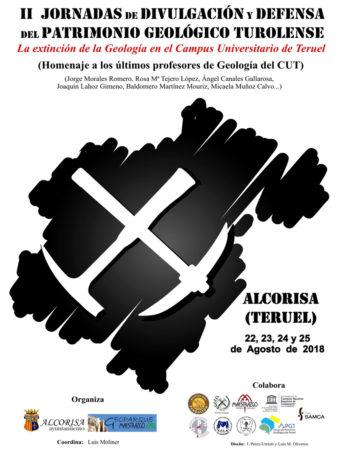 II Jornadas de Divulgación y Defensa del Patrimonio Geológico Turolense