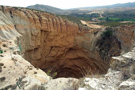 Sima de San Pedro en Oliete, Teruel