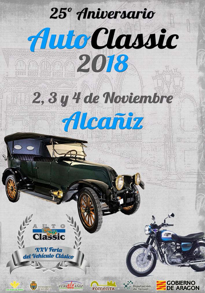 AutoClassic 2018, XXV Feria del Vehículo Clásico