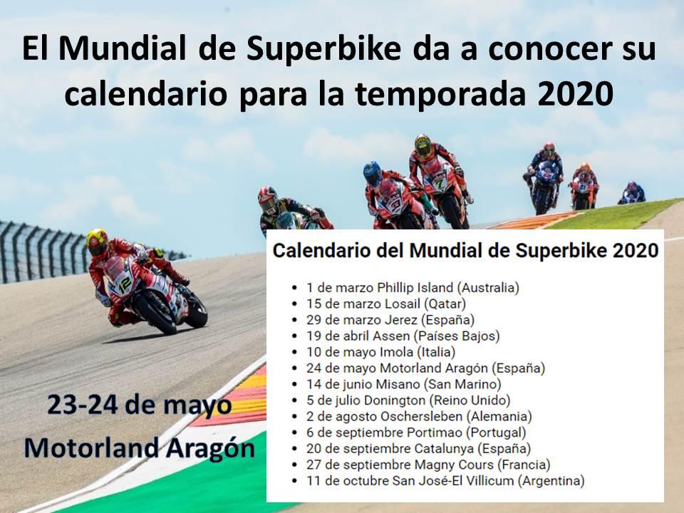 Amantes de las motos SBK 2020